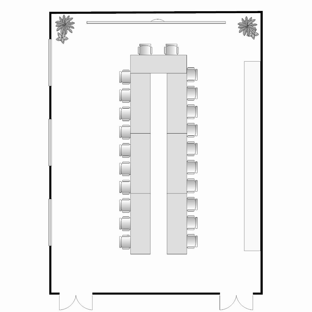 U Shaped Seating Chart Template Fresh Conference Table Seating Chart Template