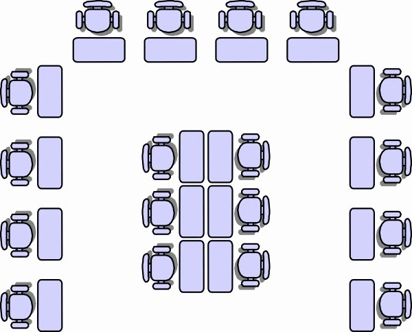 U Shaped Seating Chart Template Lovely Best 25 Classroom Seating Arrangements Ideas On Pinterest