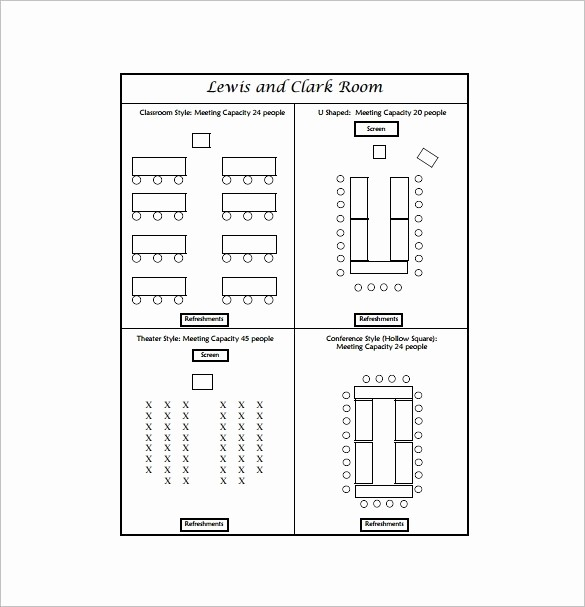 U Shaped Seating Chart Template Lovely Table Seating Chart Template Beepmunk