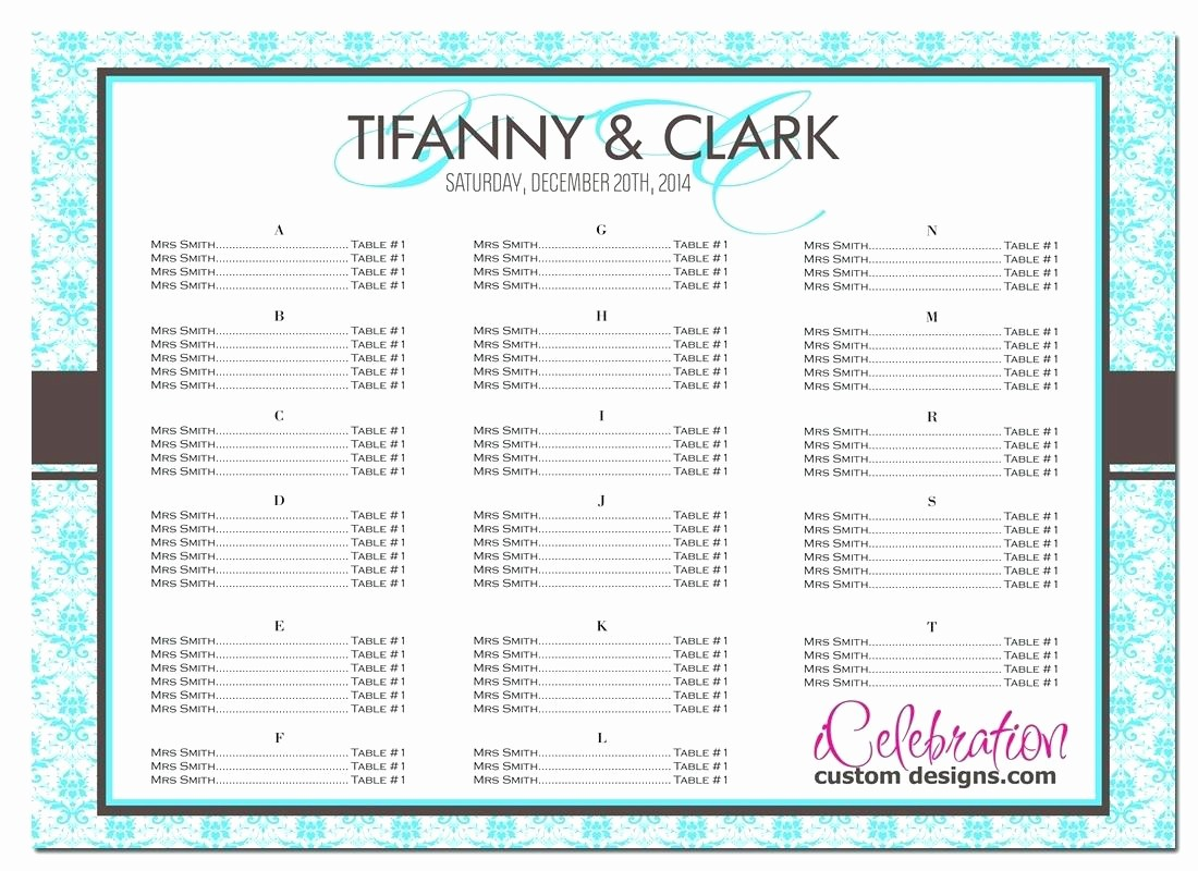 u shaped classroom seating chart template