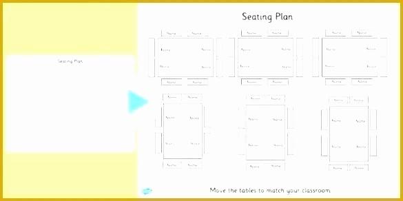 U Shaped Seating Chart Template New Classroom Seating Chart Template Excel Printable Maker