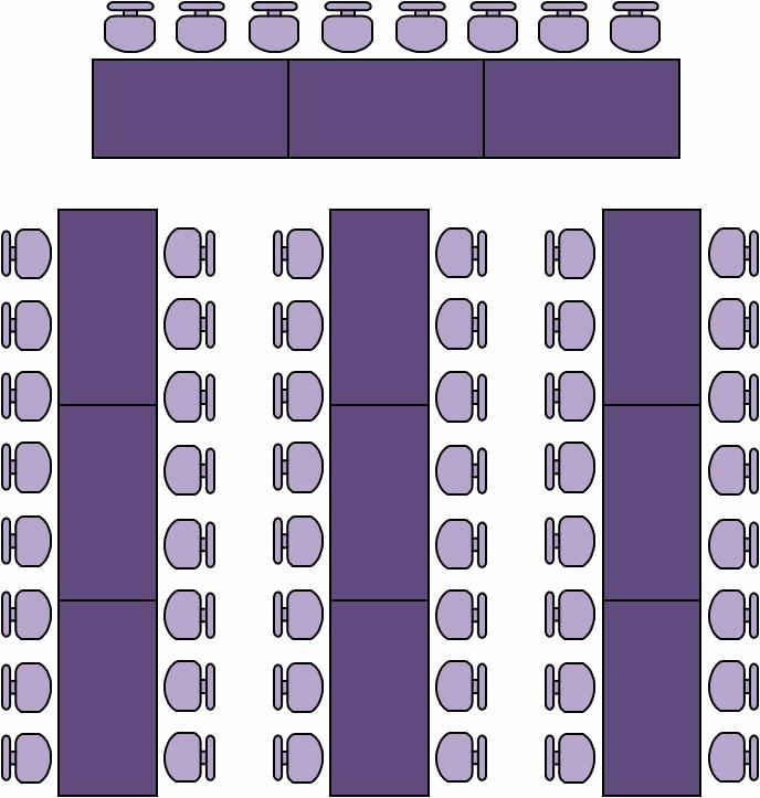 U Shaped Seating Chart Template Unique Wedding Table Seating Plans