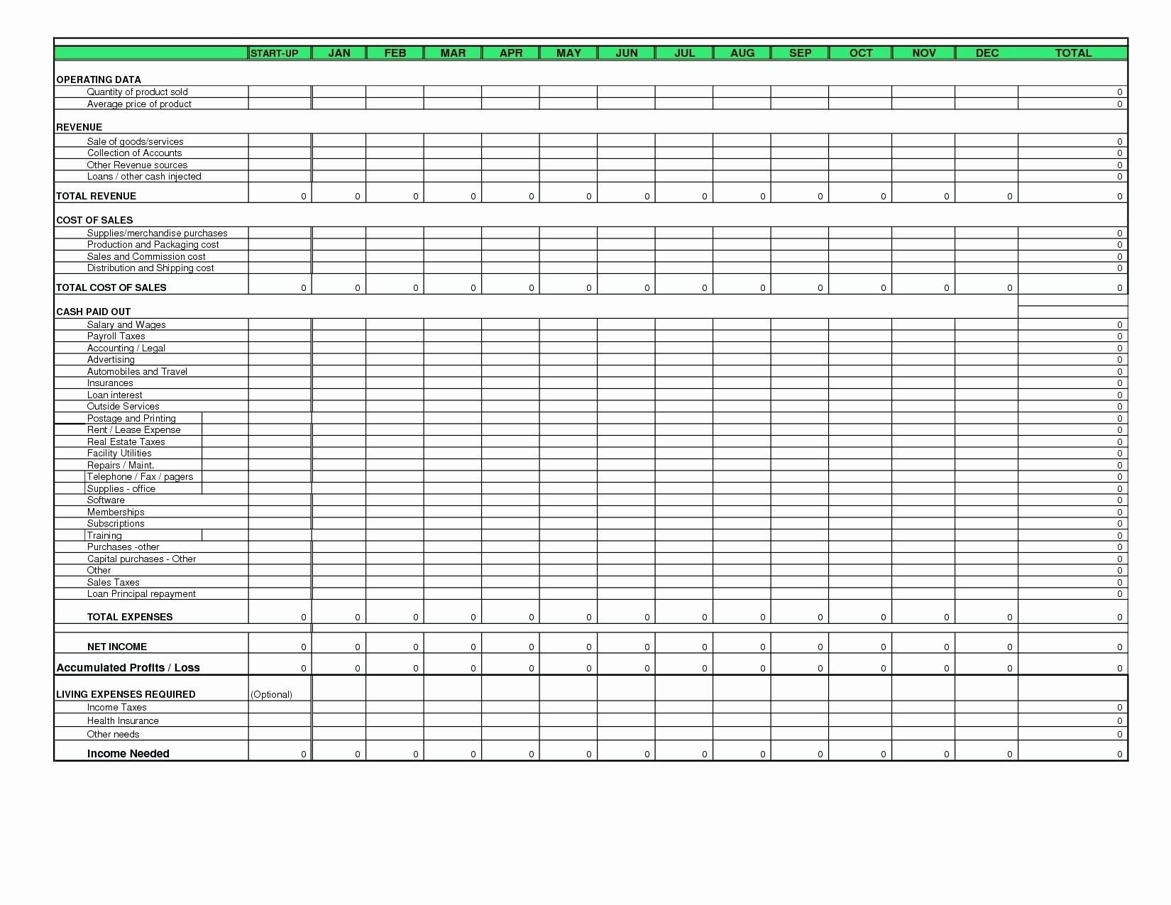 Uca Cash Flow Excel Template Awesome Uca Cash Flow Template