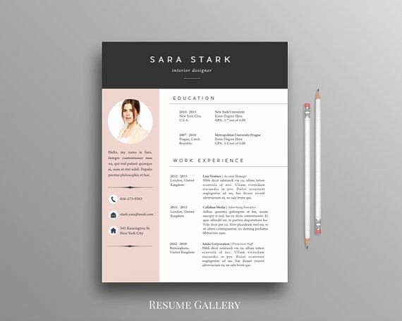 Unique Resume Templates Free Word Beautiful Best 25 Free Cv Template Ideas On Pinterest