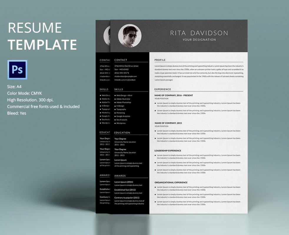 Unique Resume Templates Free Word Elegant Free Creative Resume Templates Word