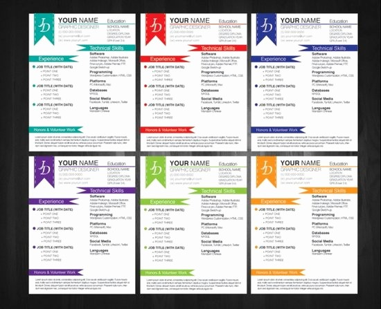 Unique Resume Templates Free Word Inspirational Free Creative Resume Templates Microsoft Word