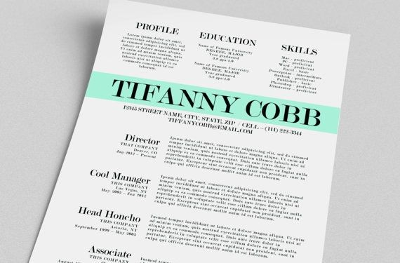 Unique Resume Templates Free Word Luxury Free Creative Resume Templates Word