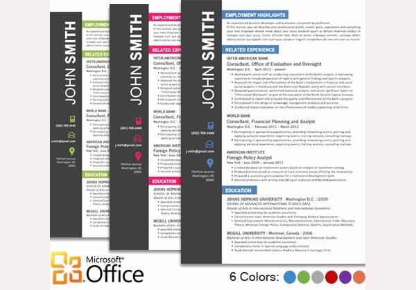 Unique Resume Templates Free Word New Microsoft Word Resume Template Free