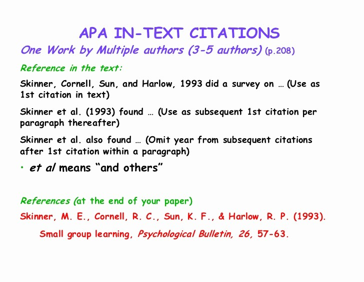 Us or U.s. Apa Beautiful Apa In Text Citation Example Multiple Authors Janetward