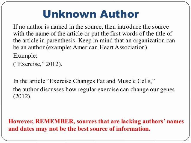 Us or U.s. Apa Beautiful Apa Referencing format for Websites with No Author