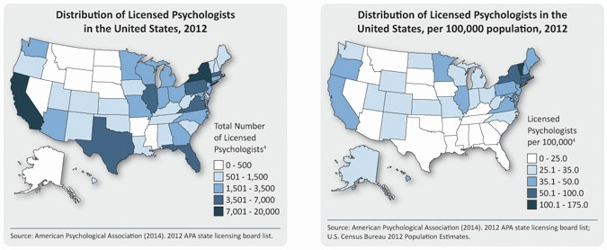 Us or U.s. Apa Beautiful How Many Psychologists are Licensed In the United States