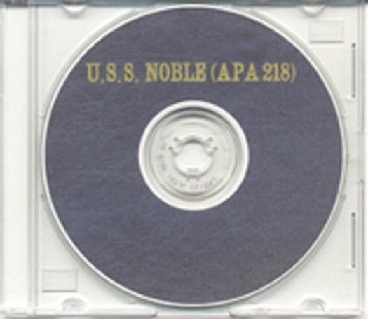 Us or U.s. Apa Beautiful Uss Noble Apa 218 Cruise Book Wwii On Cd Rare Us Navy