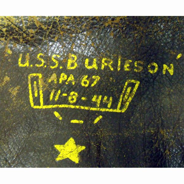 Us or U.s. Apa Inspirational Blouson Cuir Us Navy Uss Burleson Apa 67 Okinawa Le