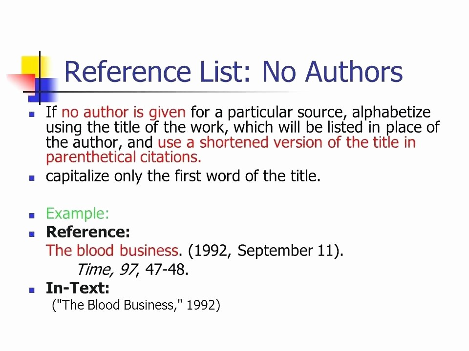 Us or U.s. Apa Luxury Apa Referencing format for Websites with No Author
