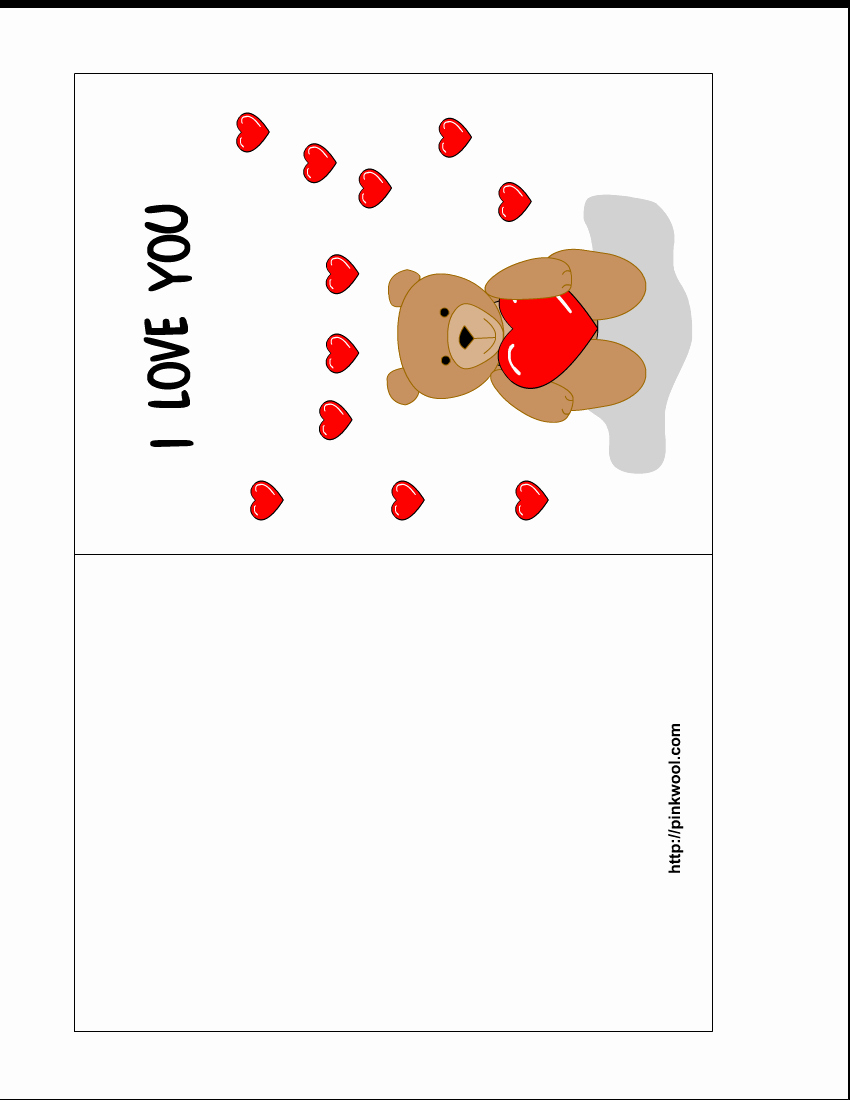 Valentine Card Templates for Kids Awesome 6 Best Of Free Printable Valentine Cards Templates