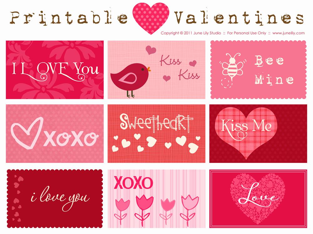 Valentine Card Templates for Kids Inspirational 40 Best Valentine Day Cards