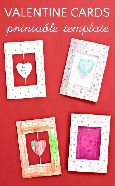 Valentine Card Templates for Kids New Clever Homemade Valentine Cards for Kids to Make