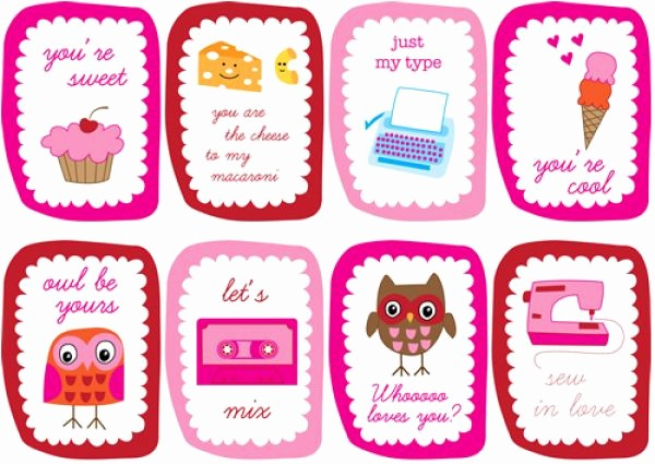 Valentine Card Templates for Kids New Pretty Printable Valentine Quotes Quotesgram