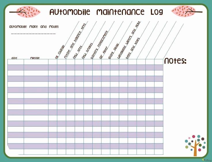 Vehicle Maintenance Log Book Pdf Beautiful Best 25 Vehicle Maintenance Log Ideas On Pinterest