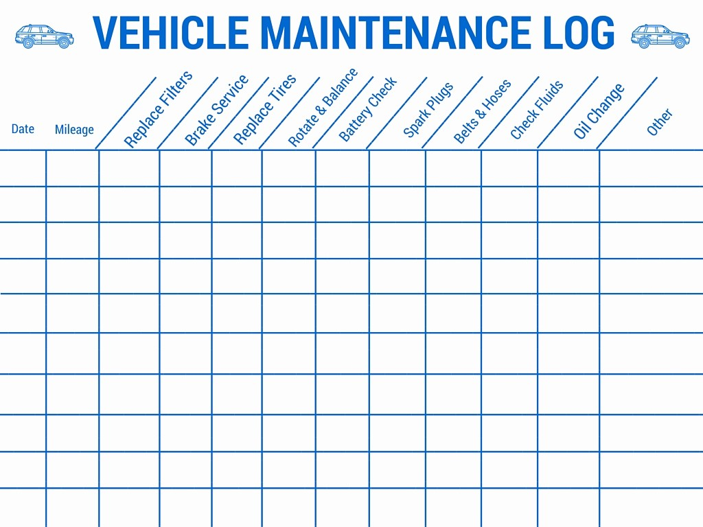 Vehicle Maintenance Log Book Pdf Inspirational Preparing Your Vehicle for A Family Road Trip Auto