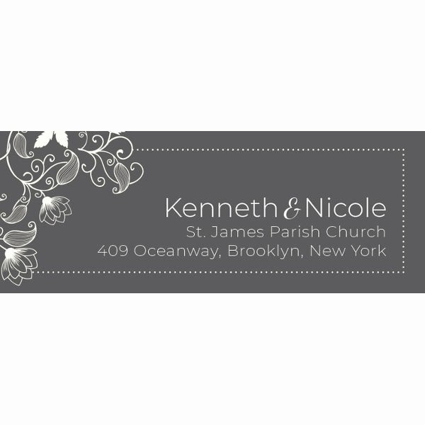 Wedding Address Labels Template Free Elegant 58 Free Label Designs Psd Vector Eps Ai