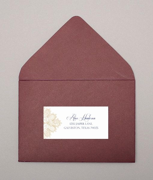Wedding Address Labels Template Free Inspirational Wedding Address Labels Lace and Address Label Template On