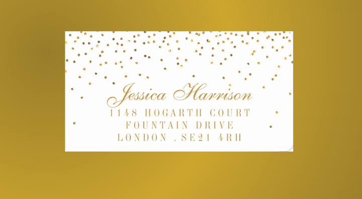 Wedding Address Labels Template Free Lovely 17 Wedding Address Label Designs Psd Vector Eps