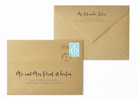 Wedding Address Labels Template Free Lovely Wedding Envelopes Envelope Template Printable Envelope