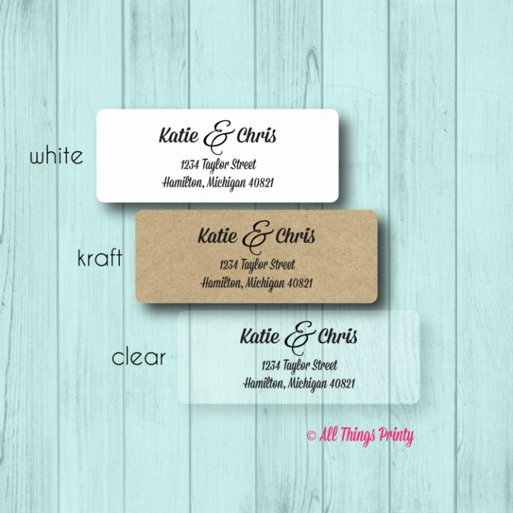 Wedding Address Labels Template Free Luxury 17 Wedding Address Label Designs Psd Vector Eps