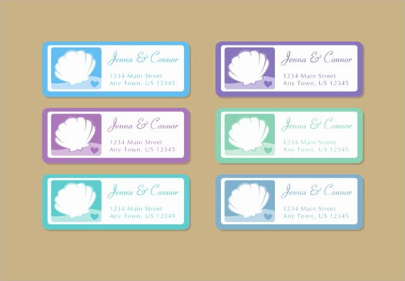 Wedding Address Labels Template Free Luxury 20 Wedding Labels Templates