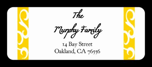 Wedding Address Labels Template Free Unique Savannah Collection orange Wedding Address Label Label
