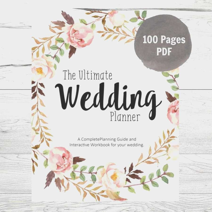 Wedding Binder Cover Page Template Elegant Wedding Binder Cover Template Beautiful 25 Unique Binder