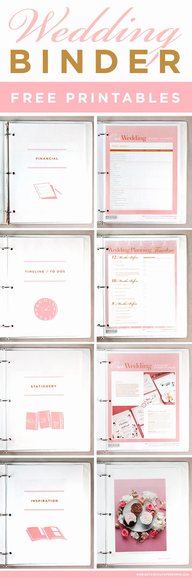 Wedding Binder Cover Page Template Fresh Free Printables Wedding Planning Binder