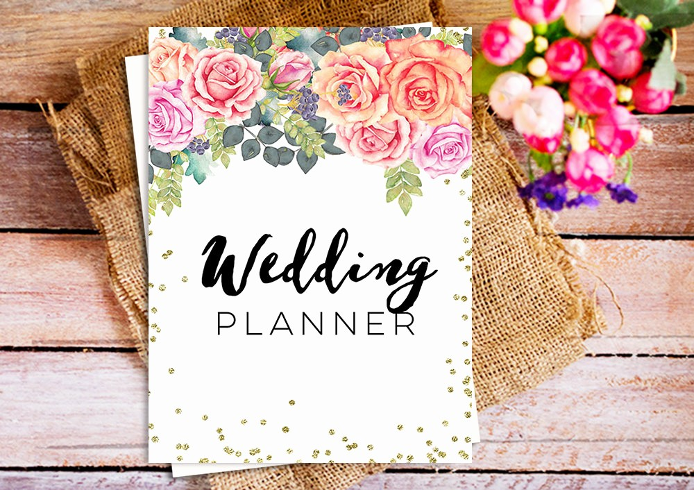 Wedding Binder Cover Page Template Fresh the Ultimate Wedding Planner Printable Wedding Planner