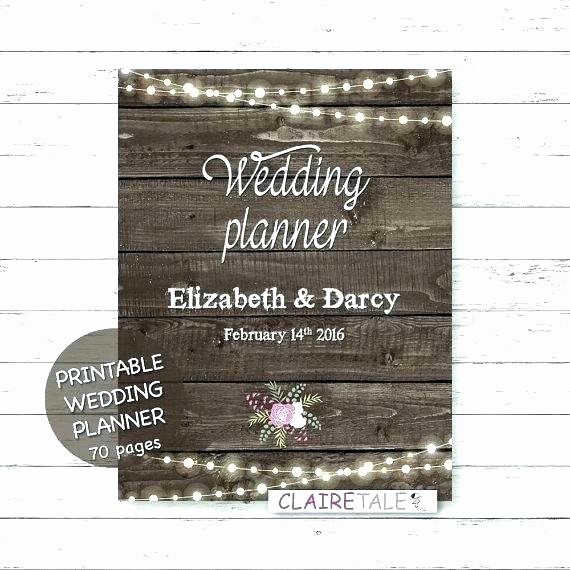 Wedding Binder Cover Page Template Fresh Wedding Planner Cover Page Template