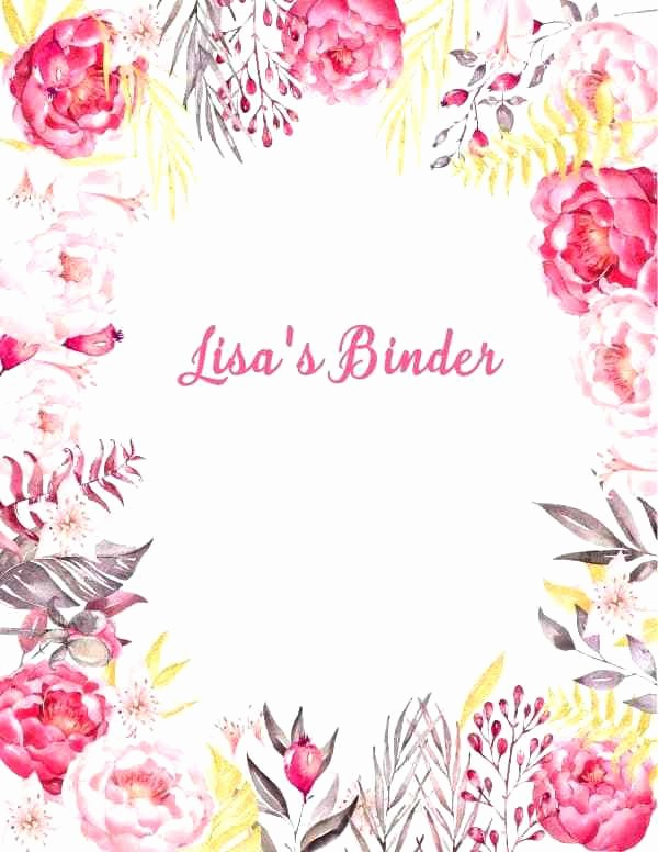 Wedding Binder Cover Page Template Lovely Editable Wedding Binder Cover Page Template Game Templates