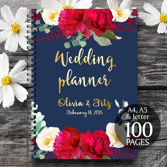 Wedding Binder Cover Page Template New Printable Wedding Planner Wedding Planner Book Diy Wedding