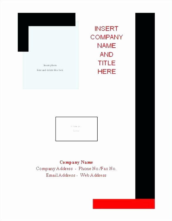 Wedding Binder Cover Page Template Unique Free Download Report Cover Page Template Word Doc Binder