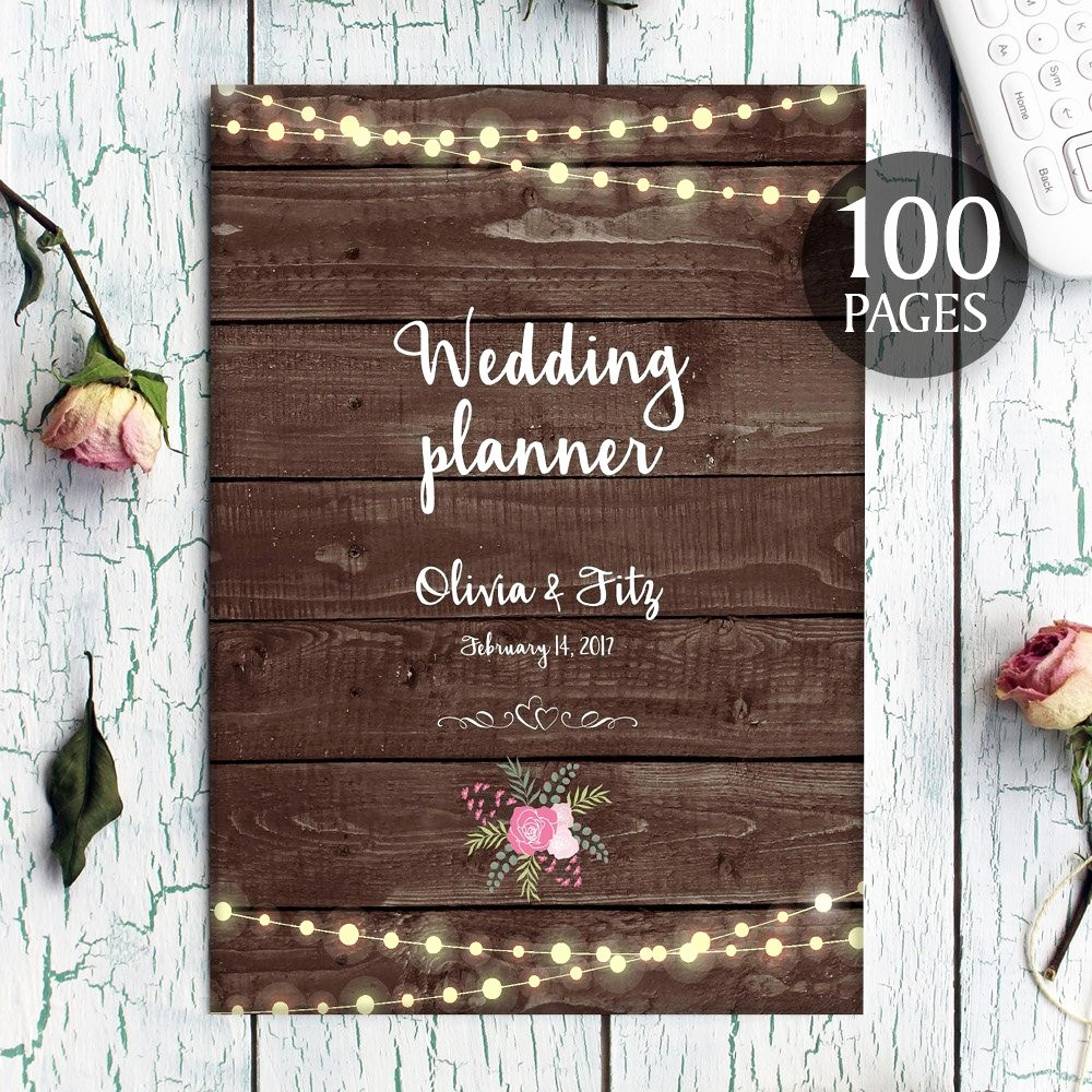 Wedding Binder Cover Page Template Unique Printable Wedding Planner Instant Wedding