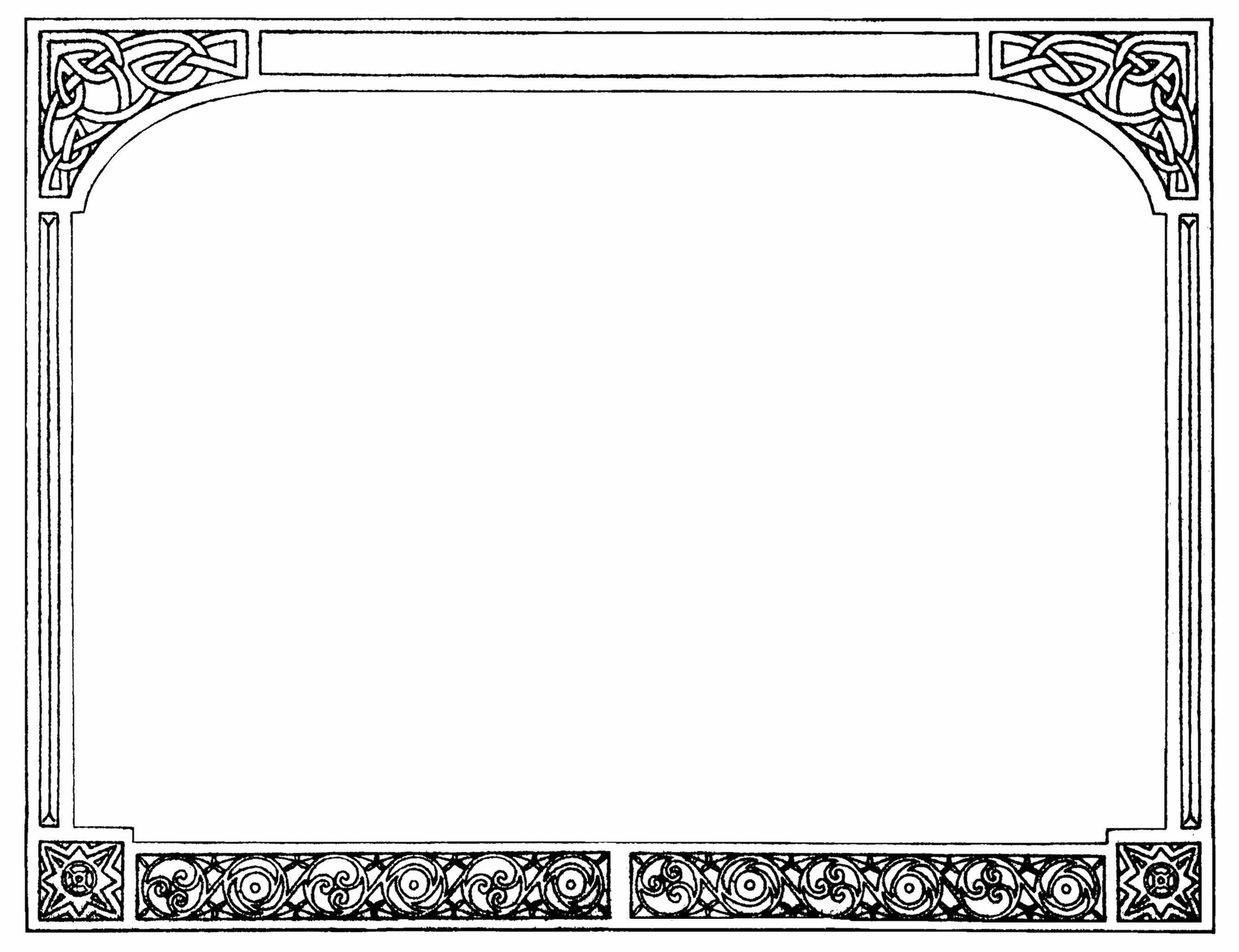 Wedding Borders for Microsoft Word Elegant Fresh Wedding Page Borders for Microsoft Word