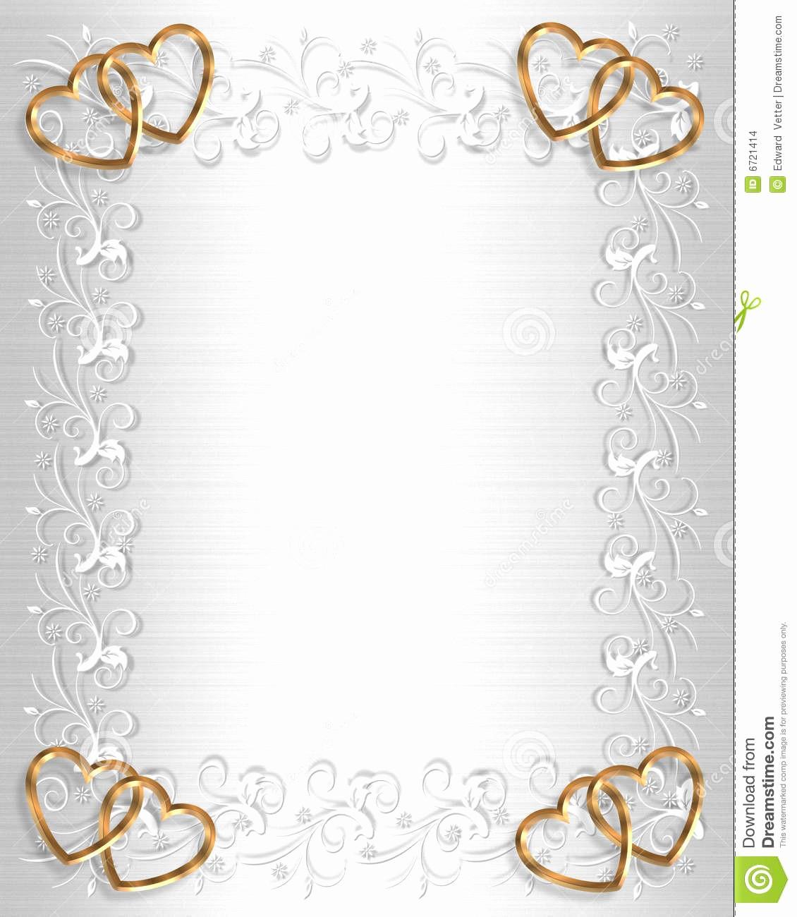 Wedding Borders for Microsoft Word Elegant Wedding Invitation Borders