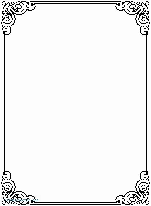 Wedding Borders for Microsoft Word Inspirational Free Borders for Word – Clipart Free Download