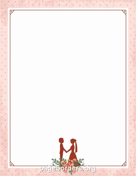 Wedding Borders for Microsoft Word Luxury Wedding Borders for Microsoft Word Free Clipart