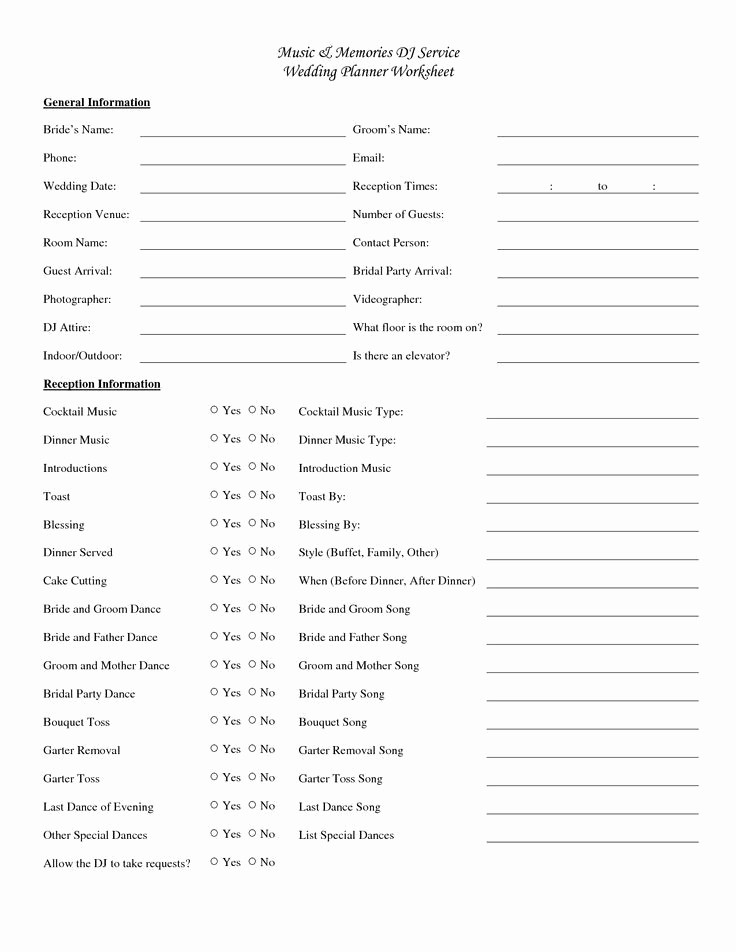 Wedding Ceremony song List Template Awesome 12 Best Wedding organization Images On Pinterest