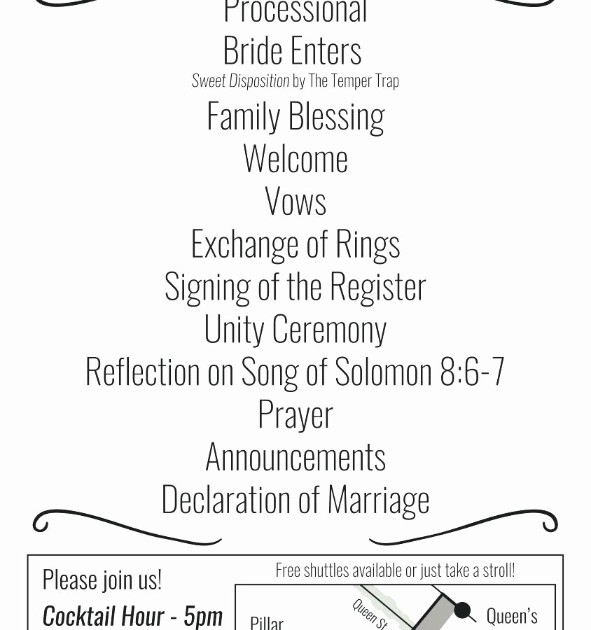 Wedding Ceremony song List Template Fresh Wedding Party List Template Free Music Consult and