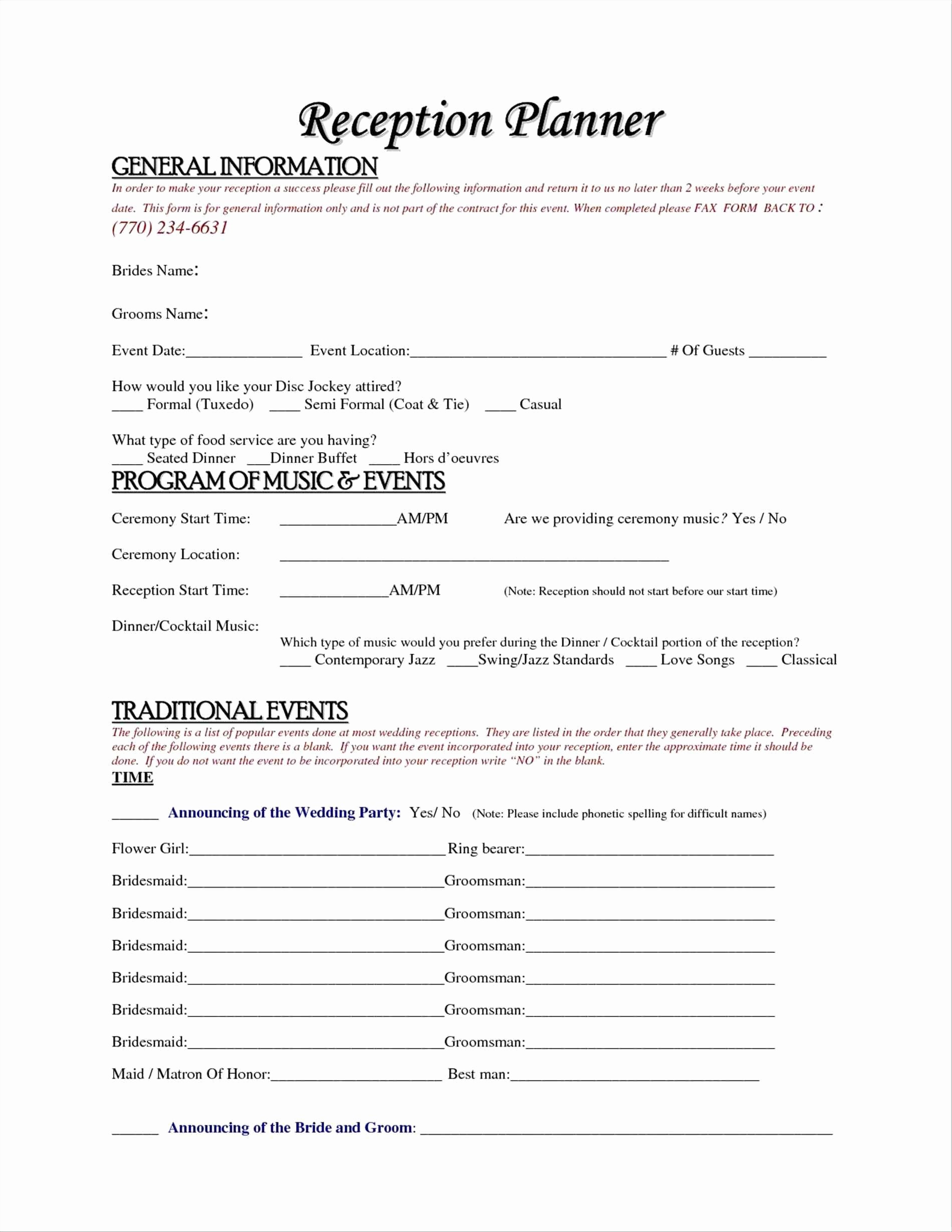Wedding Ceremony song List Template Lovely Wedding Ceremony song List Template song List for Wedding