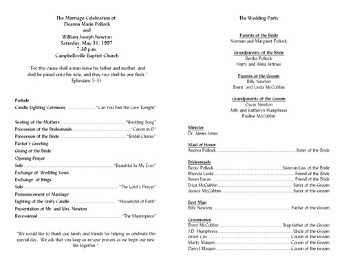 Wedding Ceremony song List Template New Fan Wedding Ceremony Programs Template