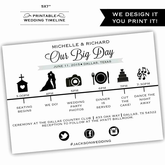 Wedding Day Timeline Template Free Best Of 25 Best Ideas About Wedding Itinerary Template On