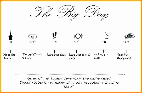 Wedding Day Timeline Template Free Best Of Sample Wedding Day Timeline Template Wedding Timeline