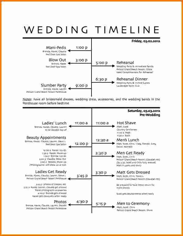 Wedding Day Timeline Template Free Lovely 1000 Ideas About Wedding Itinerary Template On Pinterest